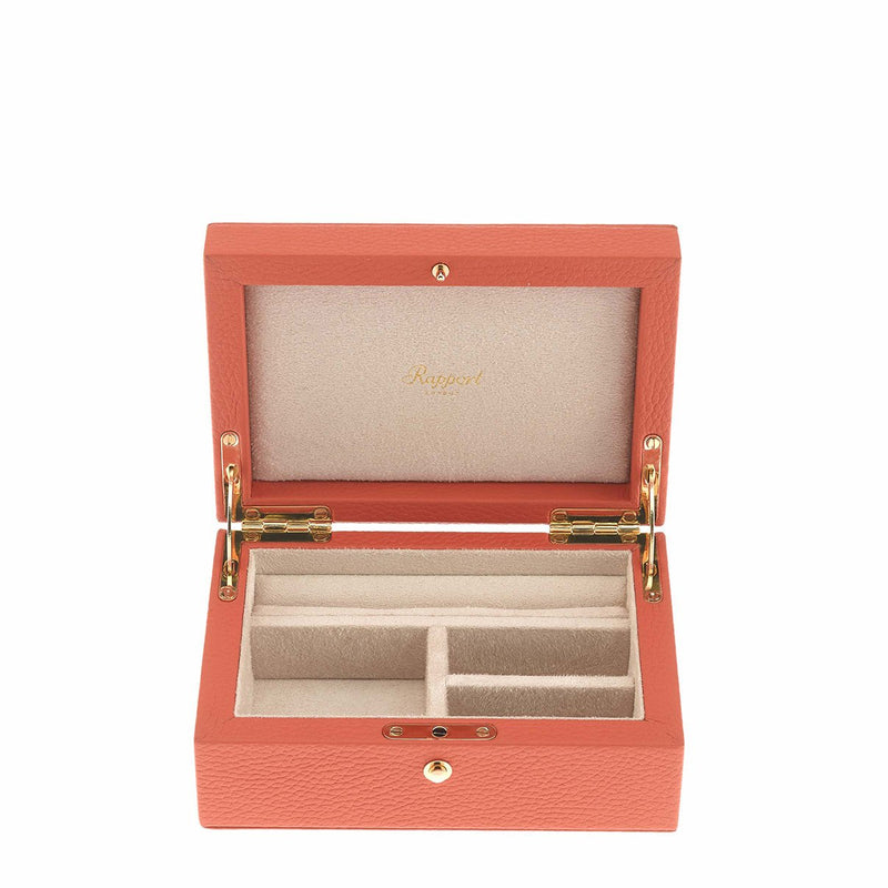 Rapport-Ladies-Layla Medium Jewellery Box-Orange
