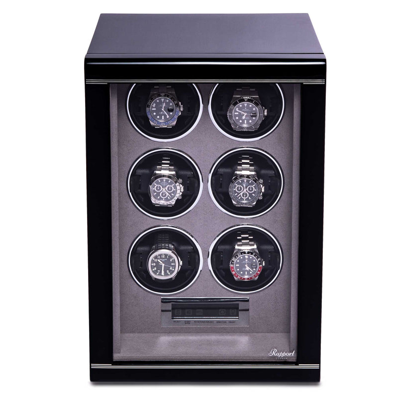 Rapport-Watch Winder-Formula Six Watch Winder-Black
