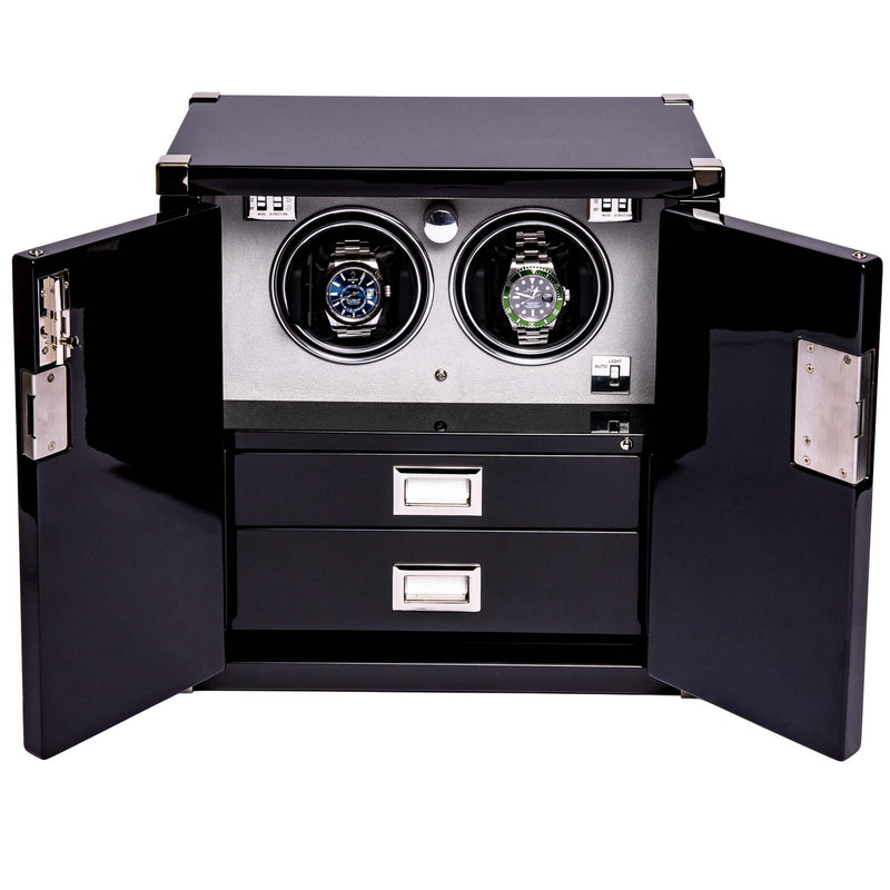 Rapport-Watch Winder-Two Watch Mariners Chest-Ebony