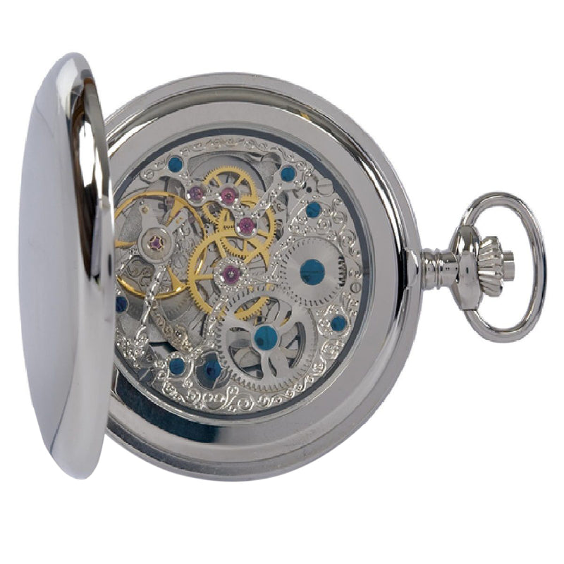 Double Opening Hunter Pocket Watch