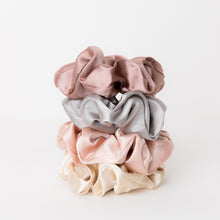 Load image into Gallery viewer, Lux Satin Scrunchy Set