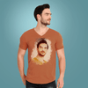 Men's V Neck - Half Sleeve T-Shirt - shotarts