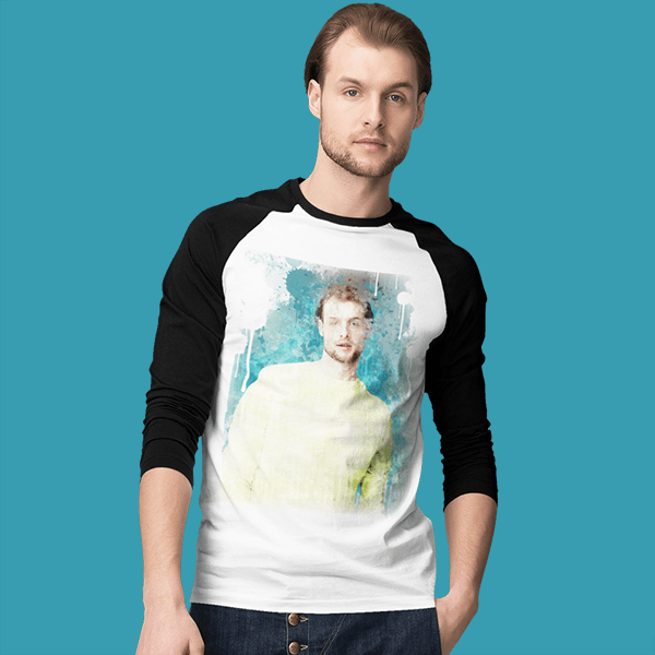 Men's Round Neck - Full Sleeve Reglan - shotarts