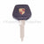 911, 964, 993 Porsche crested key head with light and blank key blade