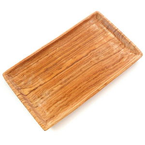 Olivewood Rectangular Tray