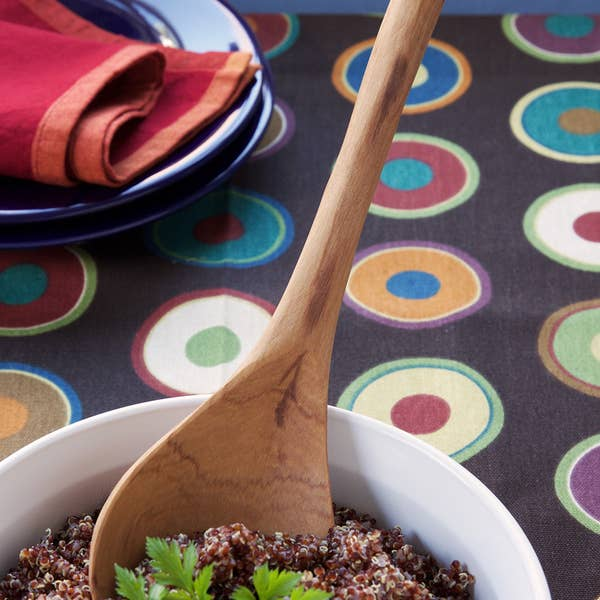 African Paddle Cooking Spoon