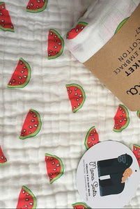 Swaddle Blanket- watermelon