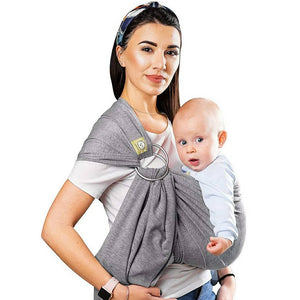 Ring sling and wrap carrier 2 in 1