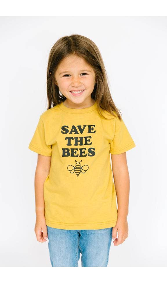 Save the Bees Tee - Organic