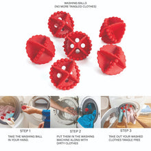 Load image into Gallery viewer, 0207 Laundry Washing Ball, Wash Without Detergent (6pcs) - DeoDap