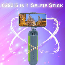 Load image into Gallery viewer, 0293 5 in 1 Selfie Stick - DeoDap