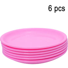 Load image into Gallery viewer, 2185 Round Shaped Mini Soup Plates/Dishes - 6 pcs - DeoDap
