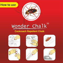 Load image into Gallery viewer, 1315 Cockroaches Repellent Chalk Keep Cockroach Away (Pack of 12) - DeoDap