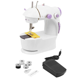 1220 Portable Mini Hand Tailor Machine for Sewing Stitching - DeoDap