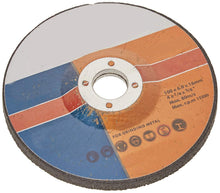 "Load image into Gallery viewer, 0448 Metal/Stainless Steel  Grinding  Wheel 4"" (100 x 6 x 16 mm) - DeoDap"