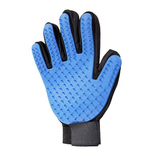 0614 True Touch 5 Finger Deshedding Glove (1 pc) - DeoDap