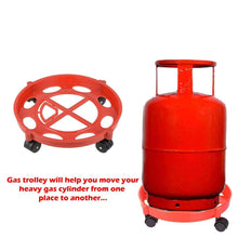 Load image into Gallery viewer, 0146 Gas Cylinder Trolley - DeoDap