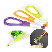Load image into Gallery viewer, 0751_Plastic Whisk Mixer  for Milk,Coffee,Egg,Juice Balloon Whisk - DeoDap