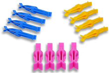 Load image into Gallery viewer, 1209 Premium Plastic Cloth Hanging Clips/Pegs - 12 Pcs