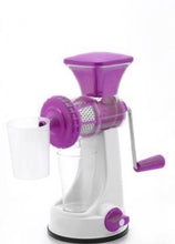 Load image into Gallery viewer, 0168 Manual Fruit Vegetable Juicer with Juice Cup and Waste Collector - DeoDap