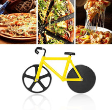 Load image into Gallery viewer, 0649 stainless steel Bicycle shape Pizza cutter - DeoDap