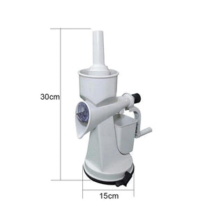 0142 Plastic Manual Citrus Juicer with Waste collector & Vaccum locking system - DeoDap