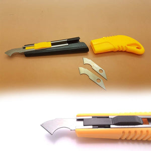 0418 Multi-Use Plastic Cutter with Plastic Cutting Blade and Precision Knife Blade - DeoDap