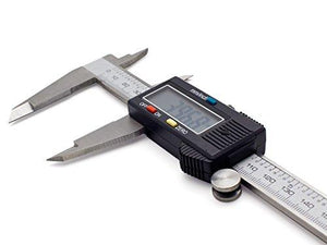 1548 Digital Vernier Caliper for Taking Internal, External Depth Thickness - DeoDap