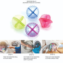 Load image into Gallery viewer, 0205 Laundry Washing Ball, Wash Without Detergent (4pcs) - DeoDap