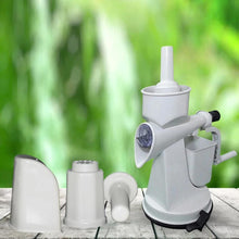 Load image into Gallery viewer, 0142 Plastic Manual Citrus Juicer with Waste collector & Vaccum locking system