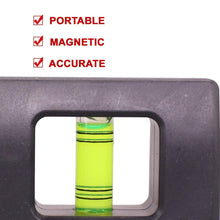 Load image into Gallery viewer, 1517 Mini magnetic spirit level Torpedo leveller 4 inch
