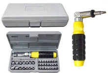 Load image into Gallery viewer, 0423 Socket and Screwdriver Tool Kit Accessories (41 pcs) - DeoDap