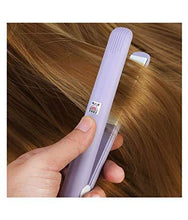 Load image into Gallery viewer, 1215 Mini Portable Electronic Hair Straightener and Curler - DeoDap