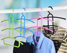 Load image into Gallery viewer, 1273 Multi-Layer Fish Bone Shape Clothing Storage Hanger/Drying Rack - DeoDap