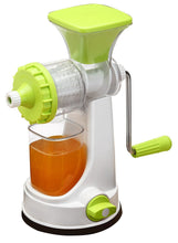 Load image into Gallery viewer, New Smart Plastic Multipurpose Manual Juicer (Green) Natural Juice Extractor