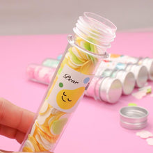 Load image into Gallery viewer, 1319 Portable Hand Washing Bath Flower Shape Paper Soap Strips In Test Tube Bottle - DeoDap