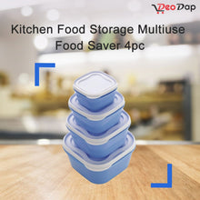 Load image into Gallery viewer, 2029 Kitchen Food Storage Multiuse Food Saver 4pc - DeoDap