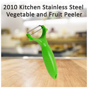 2010 Kitchen Stainless Steel Vegetable and Fruit Peeler - DeoDap