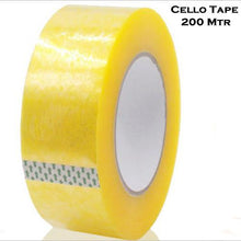 Load image into Gallery viewer, 1538 Self Adhesive Transparent Packing Tape- 200 metres - DeoDap