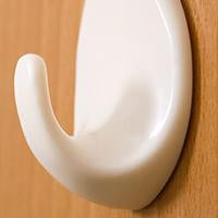 Load image into Gallery viewer, 1544 Self Adhesive Plastic Wall Hook Set for Home Kitchen and Other Places (Pack of 9) - DeoDap