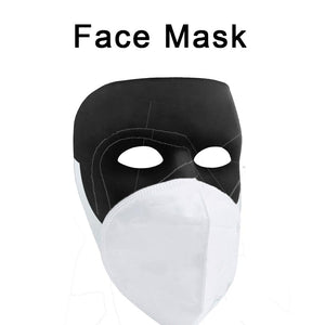 1278 Anti-Pollution Foldable Face Mask Classy White - DeoDap
