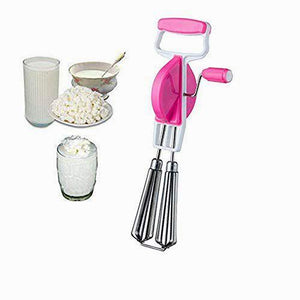 0814 Stainless Steel Power Free Hand Blender and Hand Beater - DeoDap