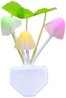 0239 Night Light Mushroom Lamp (Colorful) - DeoDap