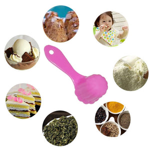 1067 Plastic Sweets Ladoo Mould Measuring Spoon - DeoDap