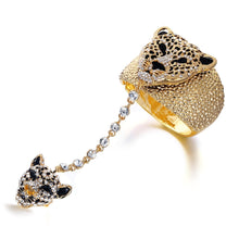 Load image into Gallery viewer, Panther Bangles bracelet Ring Set For Women from United State - Stylish boutiques