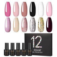 Load image into Gallery viewer, ROSALIND Neon Nail Gel Polish Set Hybrid Varnishes 12pcs/lot from united state - Stylish boutiques