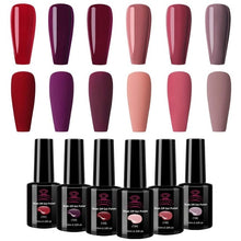 Load image into Gallery viewer, Makartt Soak Off Gel Nail Polish Set 10 ML 6 Bottles Fashion Colors in Winter from united state - Stylish boutiques