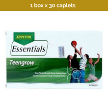 Load image into Gallery viewer, 30s APPETON Essentials Teengrow - 18 Essential vitamins & minerals for teenagers