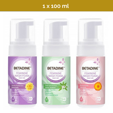 Load image into Gallery viewer, 100ml BETADINE Daily Feminine Hygiene Wash Foam for daily use