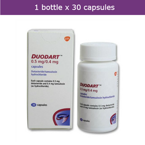 DUODART treats and prevents progression of benign prostatic hyperplasia (BPH)